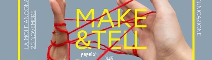 PC5 / Make&Tell - Artigianato, Comunicazione e Connessioni