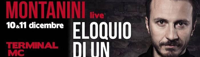 """Giorgio Montanini """"Eloquio di un perdente"""" tour 2017/2018"""