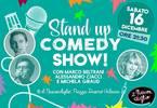 Stand-Up Comedy Show Sabato 16 Dicembre