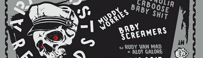 Araghost FEST #2 w/ Muddy Worries, MCBS, Babyscreames @Reasonanz