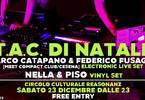 TAC Live elettronico sperimentale + vinyl set / free entry