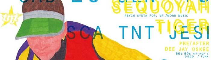 Sequoyah Tiger - psy synth pop, Morr / Dj Oskee - hip hop, disco