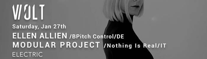 27.01 Ellen Allien + Modular Project