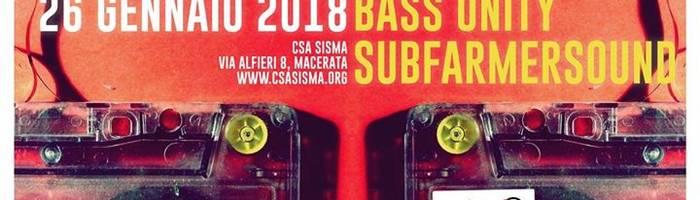 Sisma Baretto - Foster MuccignaRoots BassUnity Subfarmersound