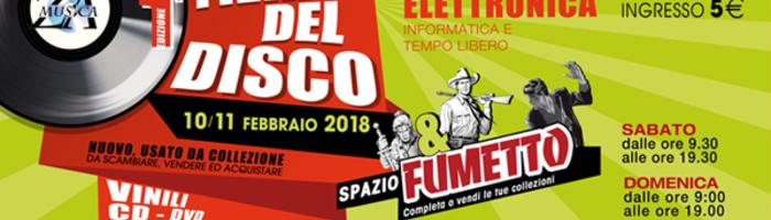 Fiera del Disco & Spazio Fumetto / Fermo