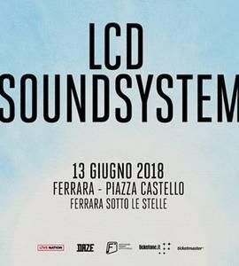 LCD Soundsystem in concerto a Ferrara Sotto Le Stelle