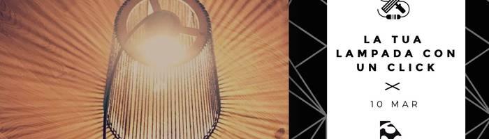 Corso di falegnameria digitale LA TUA LAMPADA IN UN CLICK