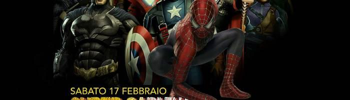 17/2 Super Heroes Carnival @ Pelledoca - Milano