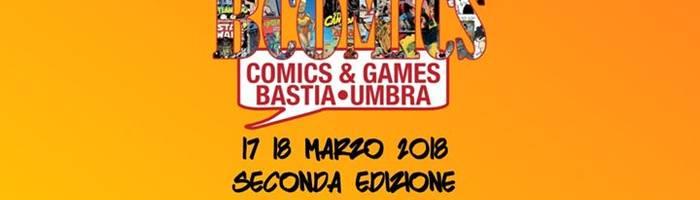 BComics Fiera del Fumetto Bastia Umbra 17 18 marzo 2018
