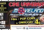 CINE University ► Lunedì 26 Febbraio ► Cinema Movieland Goldoni