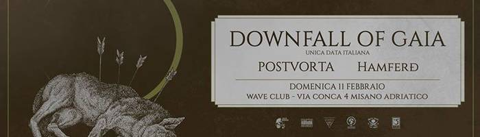 Downfall Of Gaia ‡ Postvorta ‡ Hamferd