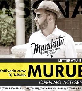 Murubutu + U.G.O. e DJ T-Robb live @Reasonanz / open: Senza Testa Crew