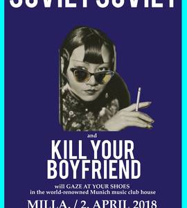 Tapefruit Osterfest: Soviet Soviet / Kill your Boyfriend