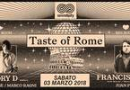 Taste of Rome w/ Lory D / Francisco