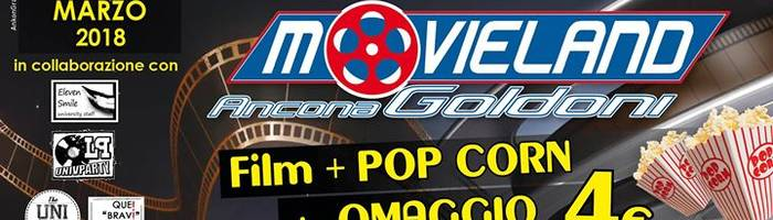 CINE University ► Lunedì 12 Marzo ► Cinema Movieland Goldoni