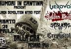 Rumori in Cantina - Jack Demolition Nitro Fest