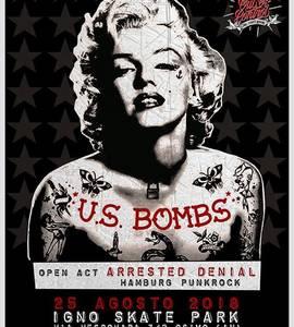U.S. BOMBS + Arrested Denial