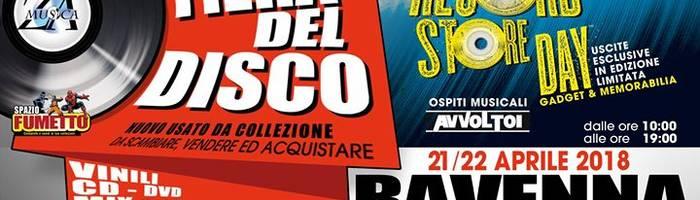 1^ Fiera del Disco e Spazio Fumetto - Ravenna