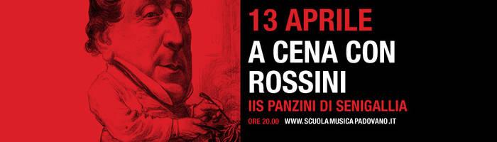 A cena con Rossini