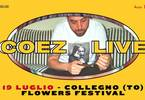 COEZ live | Collegno (TO) - Flowers Festival