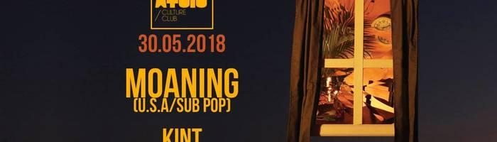 Moaning (U.s.a/Sub Pop) + Kint Live