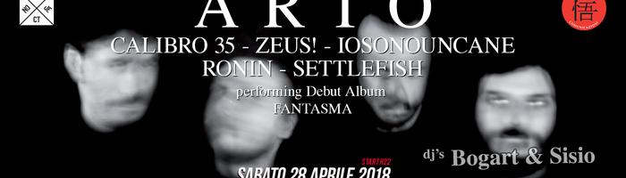 ARTO (members from CALIBRO 35, ZEUS, IOSONOUNCANE, RONIN) - Salerno