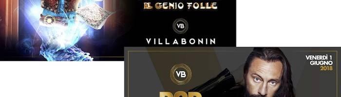 Villa Bonin: 30/04 Gigi D'Agostino, 1/6 Bob Sinclar