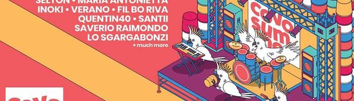 Covo Summer / 07.06 - 14.07 / Cortile del Casalone, Bologna
