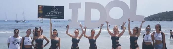 IDOL fa ballare Sankeys Ibiza. E pure Cocoricò