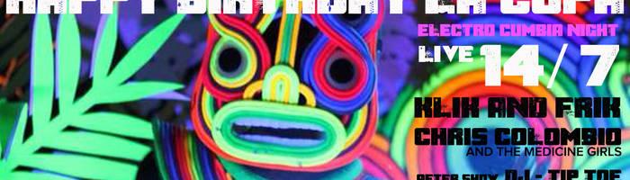 happy birthday LA CUPA