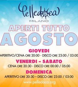 Pelledoca Milano aperto tutto agosto
