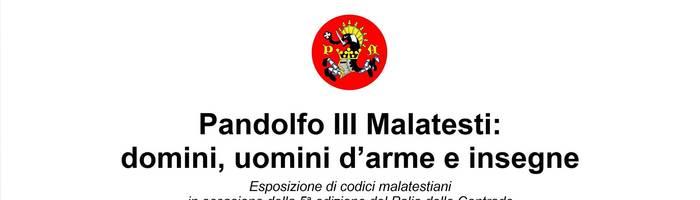 Pandolfo III Malatesti: domini, uomini d'arme e insegne