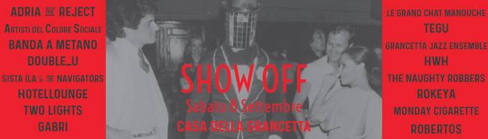 Grancetta SHOW OFF! 2018