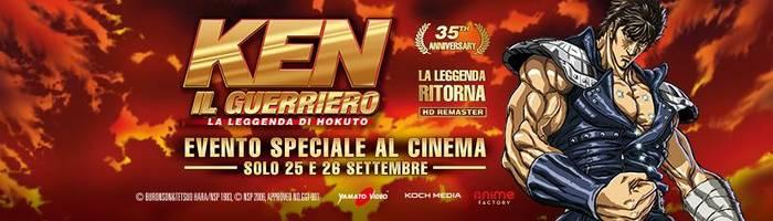 Ken il Guerriero al Cinema