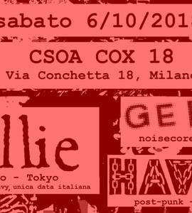 Killie(JP) Gerda Havah @csoa Cox 18