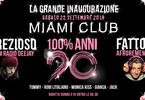 100% ANNI 90 / ospite speciale Prezioso / Miami Club