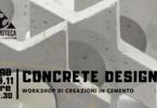 Concrete Design - creazioni in cemento