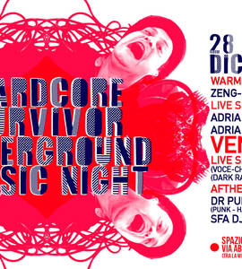 Hardcore Survivor Underground Music Night