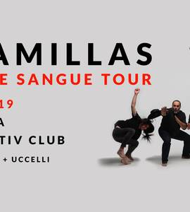 I Camillas w/ Scudetto + Uccelli live at Locomotiv Club