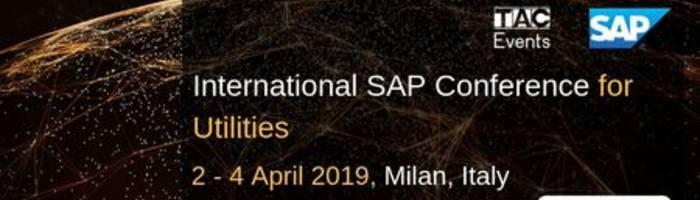 2019 International SAP Conference for Utilities