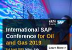 2019 International SAP Conference for Oil and Gas
