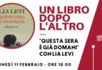 """Presentazione del libro """"Questa sera è già domani"""" con Lia Levi"""