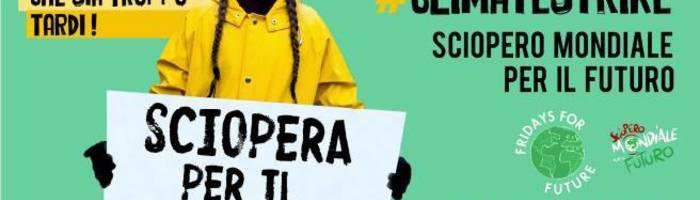 15 Marzo Ancona - Mobilitazione globale per il clima