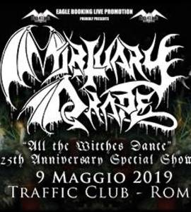 "Mortuary Drape ""All the Witches Dance"" 25th Anniversary"