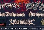 Suffocation, Belphegor,God Dethroned & guests