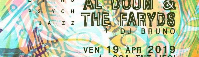 Al Doum & the Faryds in concerto + Dj Bruno allo sca TNT Jesi