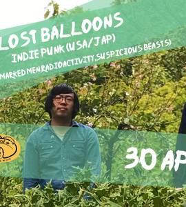 LOST Balloons -USA/JAP-Indie Punk ex Marked Men,Radioactivity