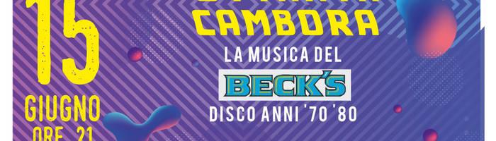 La musica del Beck's a La Cambora
