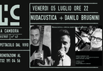 NudAcustica e Danilo Brugnini a La Cambora