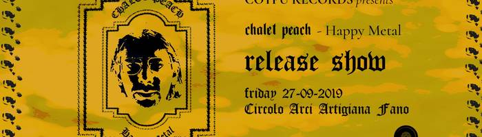 Chalet Peach - Release Party all'Arci Artigiana